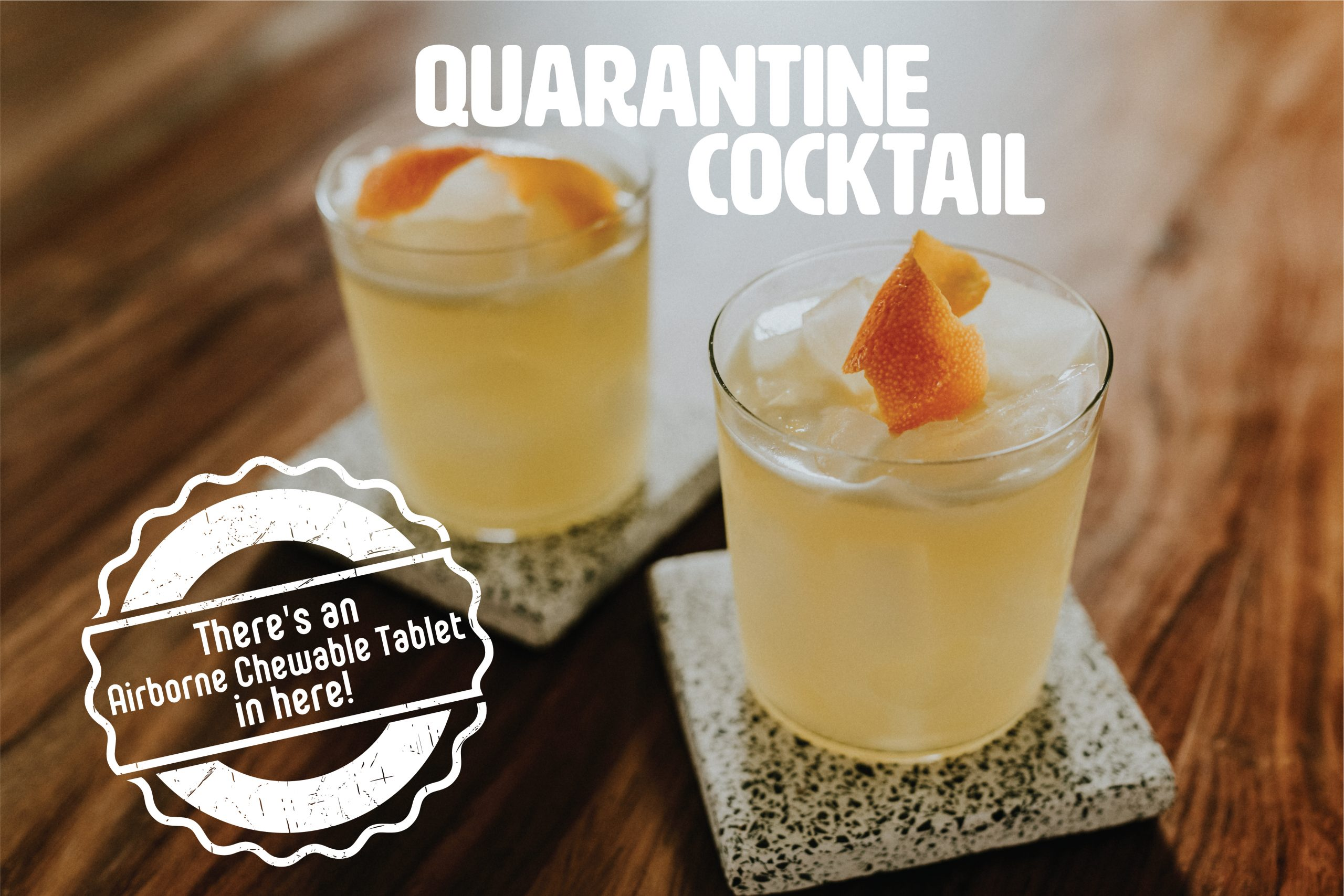 Quarantine Cocktail | Quarantini
